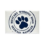 Navy Working Dogs Rectangle Magnet