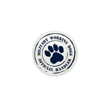 Navy Working Dogs Mini Button