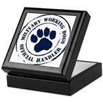Navy Working Dogs Keepsake Box