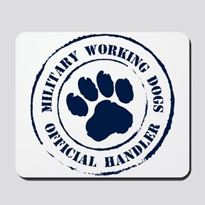 Navy Working Dogs Mousepad