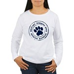 2-Sided Working Dogs Women's Long Sleeve T-Shirt