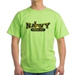 Navy Working Dogs Green T-Shirt