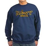 Navy Working Dogs Sweatshirt (dark)