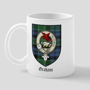 Graham Clan Crest Tartan Mug