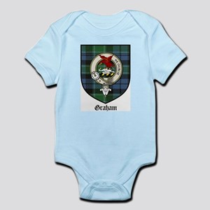 Graham Clan Crest Tartan Infant Creeper