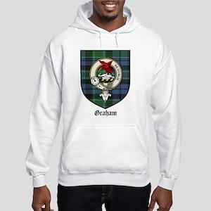 Graham Clan Crest Tartan Hooded Sweatshirt