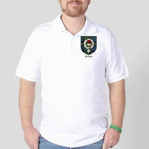 Graham Clan Crest Tartan Golf Shirt