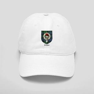 Graham Clan Crest Tartan Cap