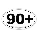 Euro Soccer Sticker (Oval 50 pk)