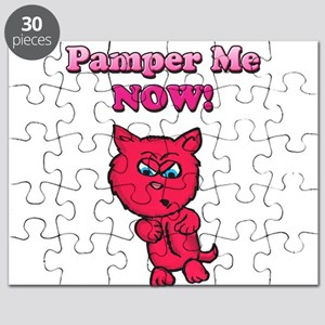 Pamper Me Now Kitty Puzzle