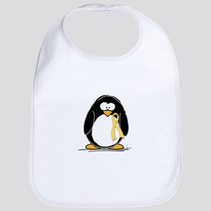 Yellow RIbbon penguin Bib