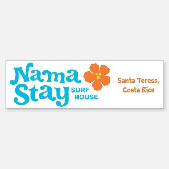 NamaStay Surf House Sticker (Bumper)