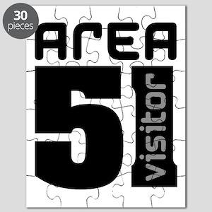 Area 51 Alien Visitor Puzzle
