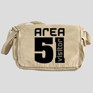 Area 51 Alien Visitor Messenger Bag