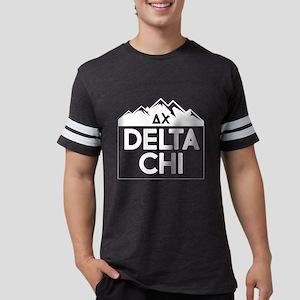 Delta Chi Mountains Mens Football T-Shirts