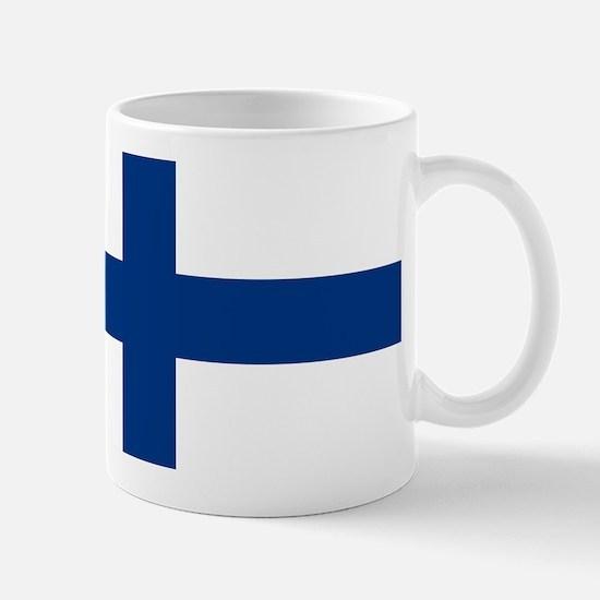 Finnish Flag Mug