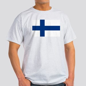 Finnish Flag Light T-Shirt