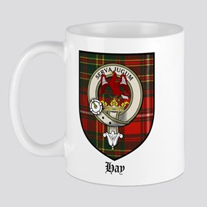 Hay Clan Crest Tartan Mug