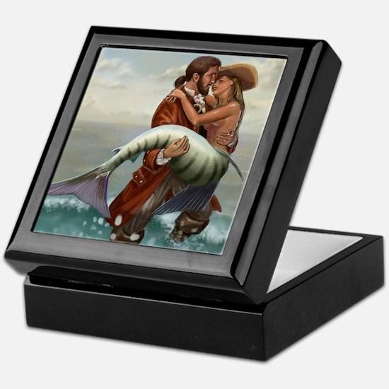Pirate and Mermaid Keepsake Box