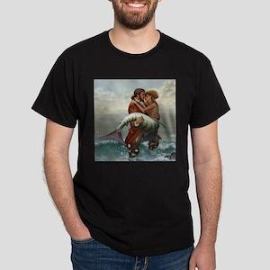 Pirate and Mermaid Dark T-Shirt