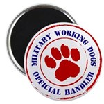 USCG Working Dogs Magnet