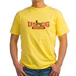 USCG Working Dogs Yellow T-Shirt