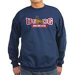 USCG Working Dogs Sweatshirt (dark)