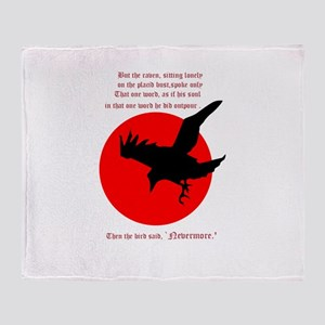 Nevermore! Throw Blanket