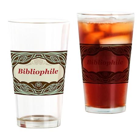 Bibliophile 3 Drinking Glass