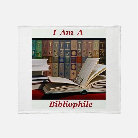 Bibliophile 2 Throw Blanket