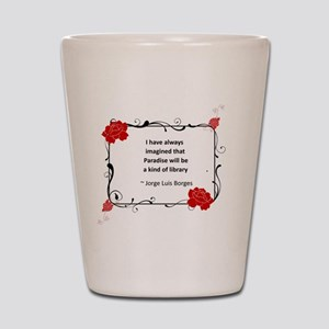 Paradise Library Shot Glass