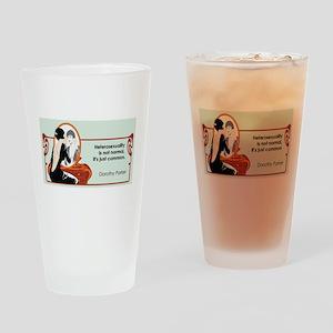 Hererosexuality Drinking Glass