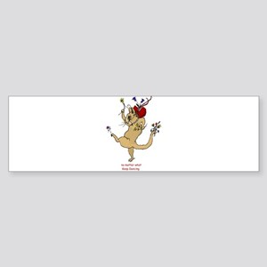 The Dancing Cat Sticker (Bumper)