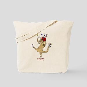 The Dancing Cat Tote Bag