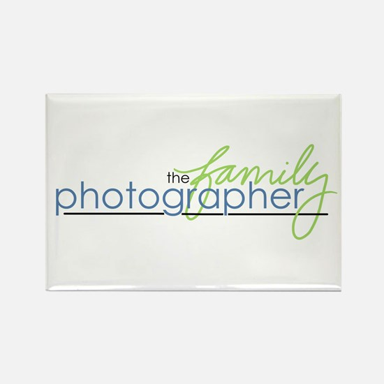 the family photographer Rectangle Magnet