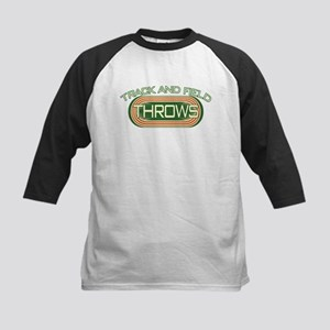 Track and Field Throws Kids Baseball Jersey