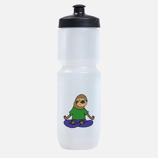 Sloth Yoga Sports Bottle