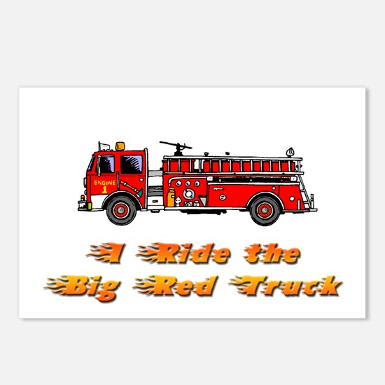 FIREFIGHTER Postcards (Package of 8)