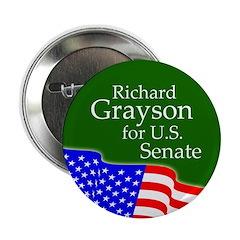 Richard Grayson for Senate campaign button