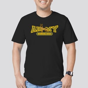 Army Working Dogs Men's Fitted T-Shirt (dark)