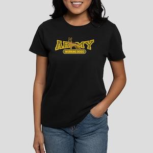 Army Working Dogs Women's Dark T-Shirt