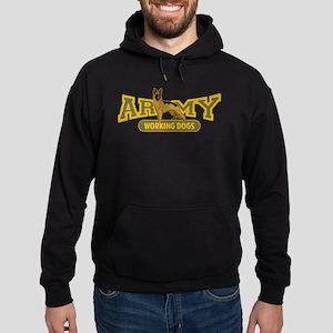 Army Working Dogs Hoodie (dark)