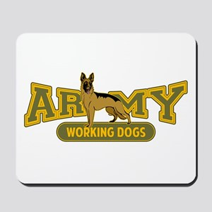 Army Working Dogs Mousepad