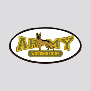 Army Working Dogs Patches