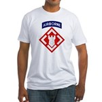 20th Engineer Fitted T-Shirt
