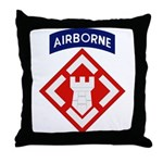 20th Engineer Throw Pillow