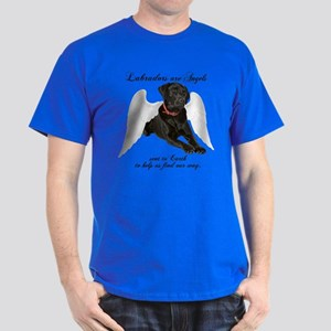 Black Lab Angel Dark T-Shirt