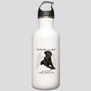 Black Lab Angel Stainless Water Bottle 1.0L