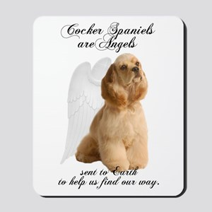 Cocker Angels Mousepad