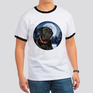 Black Lab Ringer T